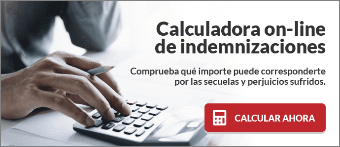 Calculadora online de indemnizaciones en accidentes